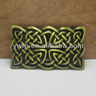 Fashion western belt buckle with antique brass finish FP-03368-1 in stock wholesale available 50pcs per order can be mixed