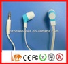 Accessment supplier promotional good sound cheap earbuds with logo