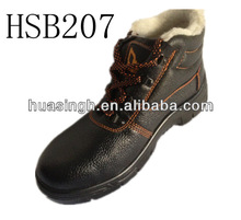 GH,Cold resistant fur lining oil&alkali resistant safety winter shoes chile popular