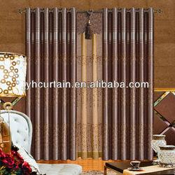 Living Room Manual Fabric Window Curtains