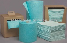 Universal Hazmat Pads & Rolls chemical absorbents