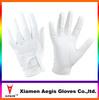 Hot sale brand white female golf glove sheepskin spandex Best Quality Fashion leather gloves OEM Golf Glove With Printed Logo