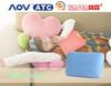cheap custom plush animal or fabric rose shaped pillow