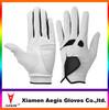 Hot sale brand white summer golf glove sheepskin spandex Best Quality Fashion leather gloves OEM Golf Glove With Printed Logo