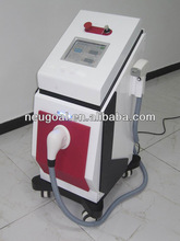 high speed laser hair removal with contact-cooling handpiece