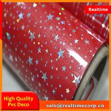 chipboard vacuum press rigid flower design pvc gypsum sheets