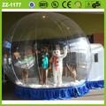 al aire libre directa de la fábrica venta caliente duradera de la moda barata de camping de pvc transparente inflable tienda de la bóveda