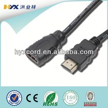 HDMI cable,Band network, 1080p HDMI CABLE,13+1,4. OD: 7.3mm