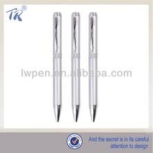 Custom Design Silver Ball Point Pen
