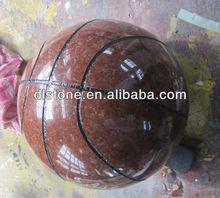 Imperial red granite basketball