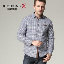 K-BOXING brand fashion spring leisure cotton shirt