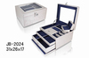 white luxury PU lether jewelry box