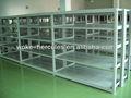 Auto parts shelf with medium duty