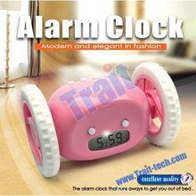 World Top Ten Novelty Clock Hide and Seek Running Alarm Clock / Rolling Alarm Clock