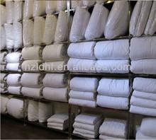 White Patchwork Quilt