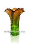 Artbay lead crystal flower vase