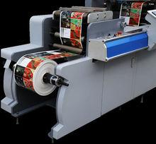 hot stamping etiquette cut machine
