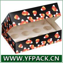 Decorative new design 12 Cupcake Box wholesale