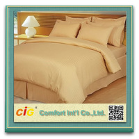 High Quality 400TC Sateen Hotel Bed Sheet Material