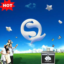 2014 Creative ad product with floating bubble logo&sign substitute for led dot matrix display