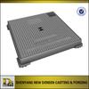 OEM Sand Casting Cast Iron Hydraulic Square Manhole Cover