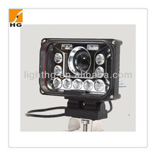 Popular 5inch 42w Square cree high/low beam headlight for truck 4x4 Jeep led work light HG-1032