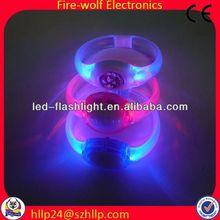 hot promotional items special gift set bracelet party favors decorative led lights