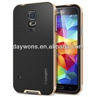 2014 Nice High Quality phone case for Galaxy S5 Case Hybrid Armor Case in Shenzhen