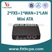 cheap price VoIP Gateway ata mini voip phone adapter