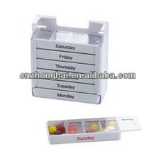28 compartment pill box/28 cases pill box/7 day 28 compartment pill box