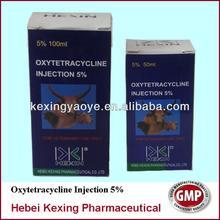 Oxytetracycline injection 5% 10% 20% veterinary medicine