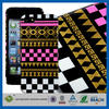 C&T Latest triangle design gold foil cover for case iphone5