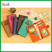 Encai Triangle Design Credit Cards Holder Wallet/Bank Card Holder/PU Cards & Tickets Organizer Bags