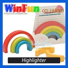 Highlighter Pen Four Color Novelty 4 Color Highlighter Pen