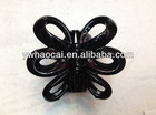 Hot selling flower plastic clip hair claw