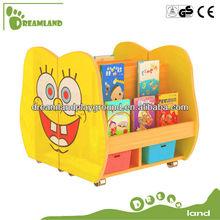 Hot Sales,Cartoon Design Kindergarten Bookshelf