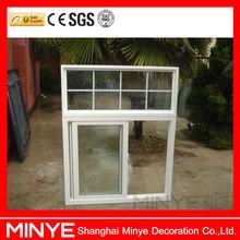 NEWLY PVC SLIDING GLASS WINDOW /CHINA HIGH QUALITY CONCH BRAND UPVC WINDOW/EXTRUDED PVC WINDOW/CHEAP PRICE PLASTIC UPVC WINDOWS