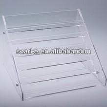2014 beautiful design Nail Polish DisplayOn Table Rack Acrylic