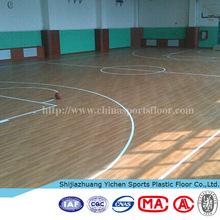 Basketball Court Maple Wood flooring