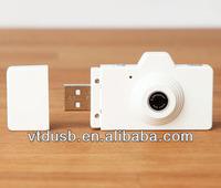 Camera USB,White Novelty Plastic Drive,Pendrive Wholesale