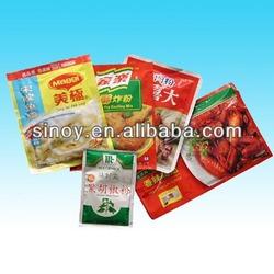 packing plastic bag for chicken essence seasoning
