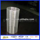 304 316 welding edge ss woven wire mesh filter tubes