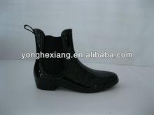 2015 new design fashion PVC rain boot