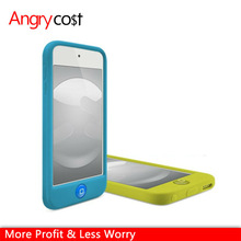 Jelly Bean Tactile Home Button Soft Sherbet Silicone Cover Skin Case For Apple iPod touch 5th Gen