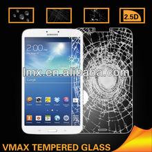0.26mm 2.5D Curverd Edge ! Galaxy tab3 8.0 tempered glass screen protector OEM/ODM (Glass Shield)