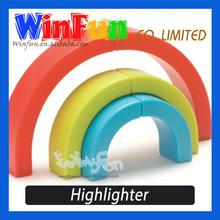 4 Color Highlighter Pen Novelty Shape Highlighter Highlighter Pen Set