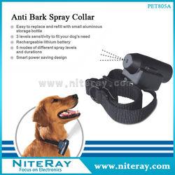 Dog citronella spray collar PET-805A remote anti bark spray collar