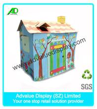Model cardboard furniture design house for children DIY