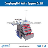 Hospital crash cart YA-ET7500IA emergency equipment