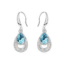 13838 2014 New top superstar jewelry big beautiful drop earrings